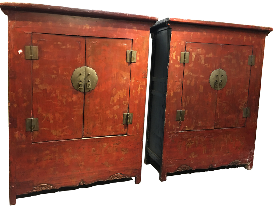 Shen S Gallery Chinese Antiques Larger Amroire Cabinet San Francisco Bay Area